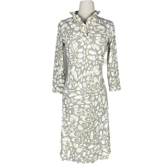 J.MCLAUGHLIN ruffle dress   XS